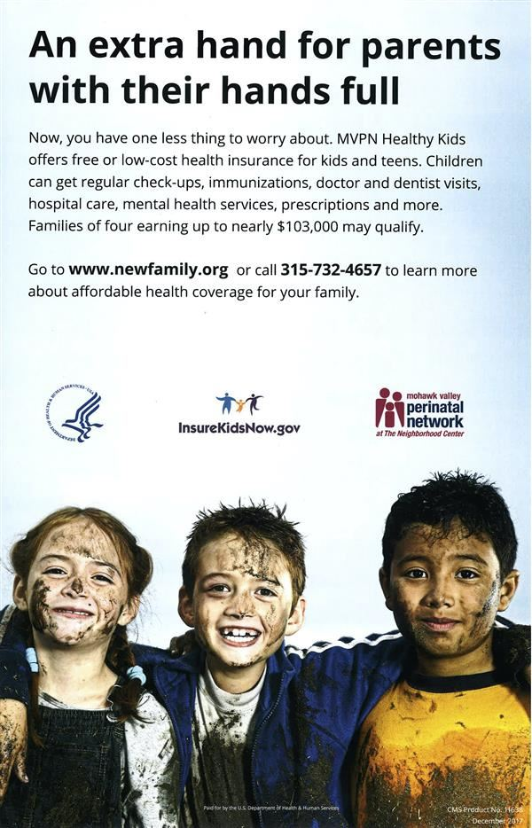 Health insurance for kids and teens