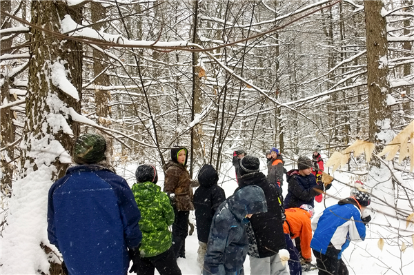 Elementary Students visit BREIA Trails