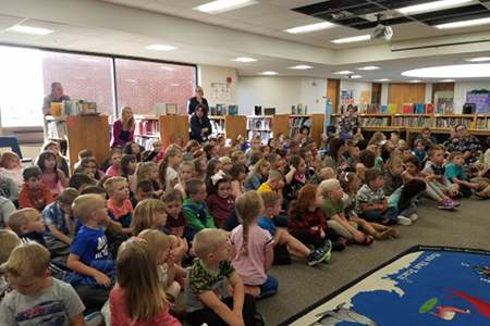 Remsen Elementary School Holds Annual Back to School Assembly