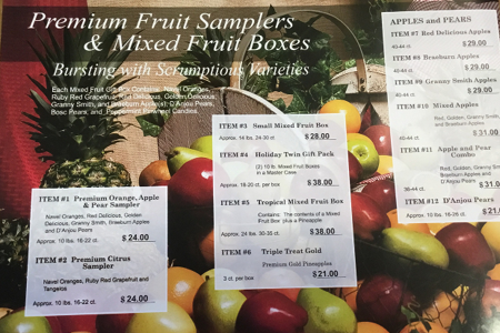 FFA Fruit, Cheese, and Sausage Sale Fundraiser