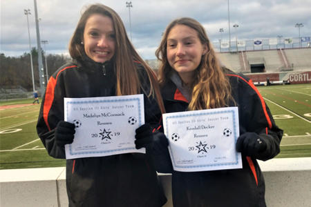 Remsen CSD Soccer Athletes Chosen as All Section III All-stars