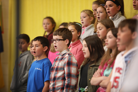 RCS Holds Veterans Day Performance