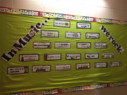 Music Bulletin Board